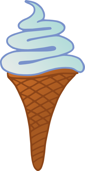 free vector Glace_italienne clip art