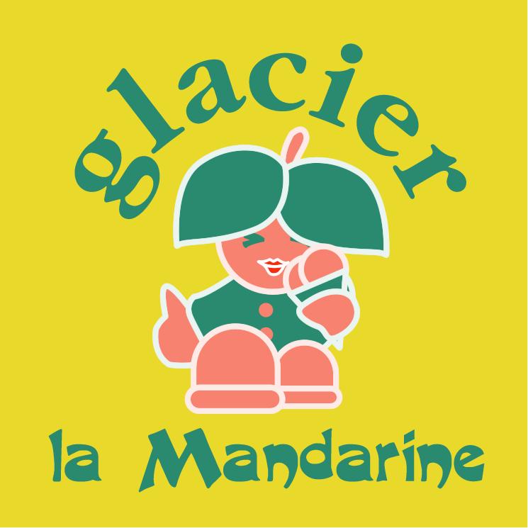 free vector Glacier la mandarine