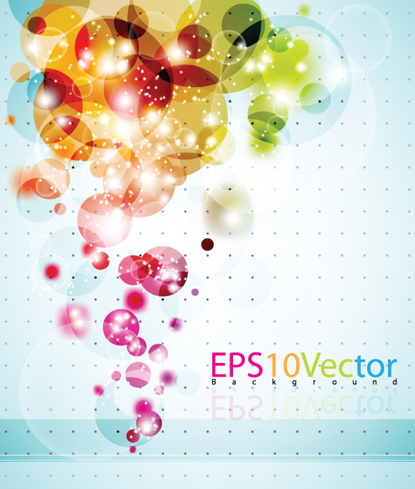 free vector Glare background clutter vector 4