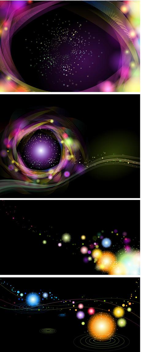 free vector Glare background vector