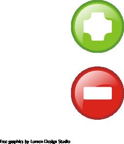 free vector Glass Buttons clip art