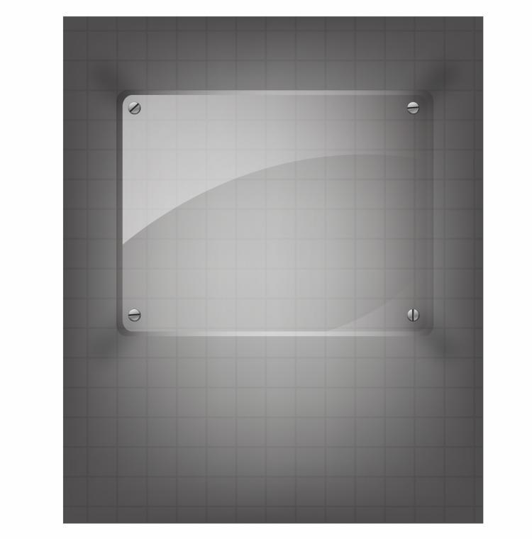 free vector Glass framework