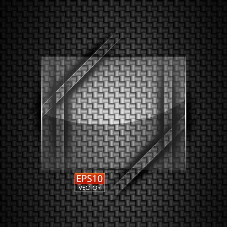 free vector Glass round advertising background 05 vector