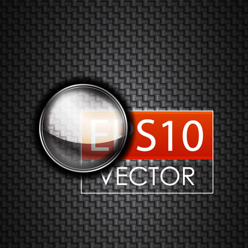 free vector Glass texture stickers 02 vector