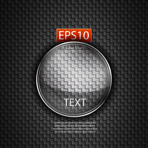 free vector Glass texture stickers 05 vector