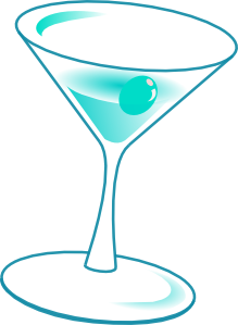 free vector Glass With Drink clip art