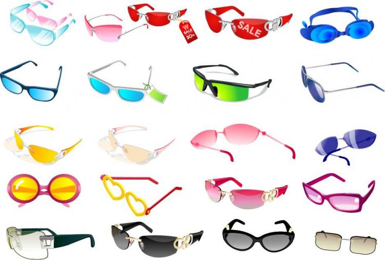 free vector Glasses Vectors