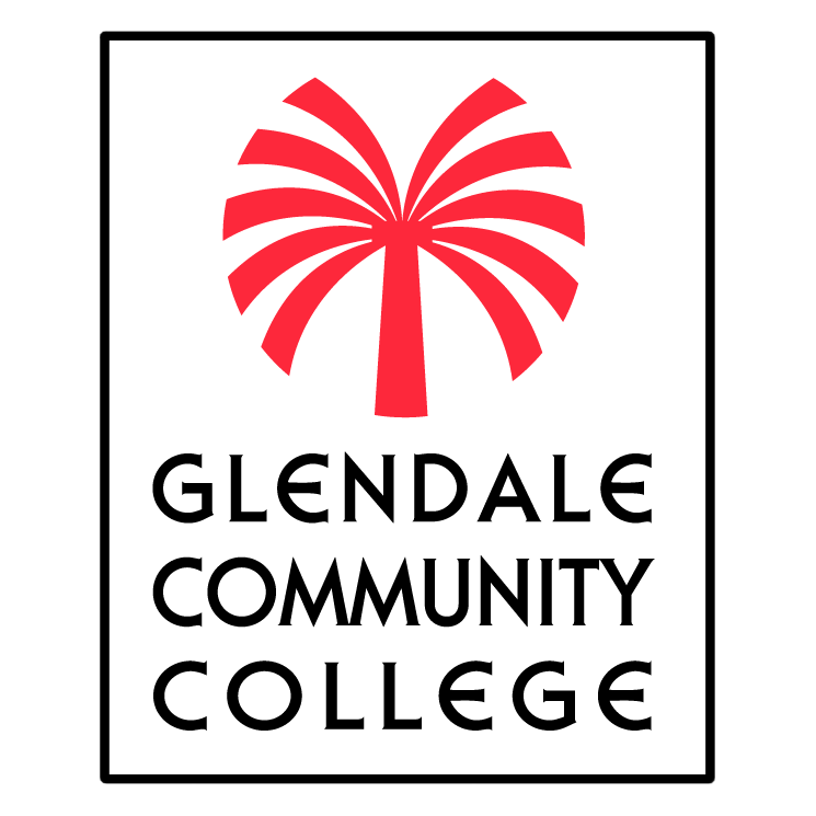 free vector Glendale community college 0