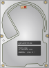 free vector Glibersat Hard Drive clip art