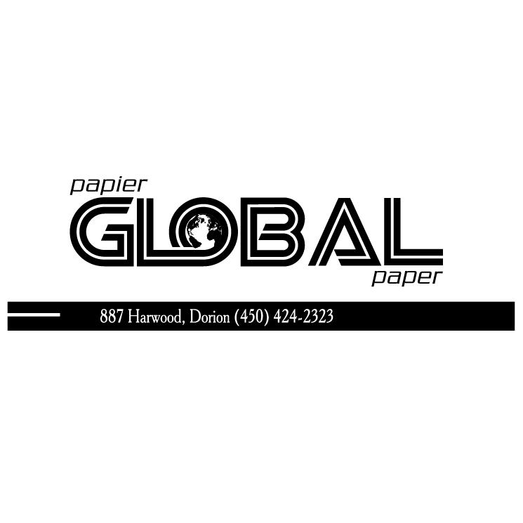 free vector Global paper