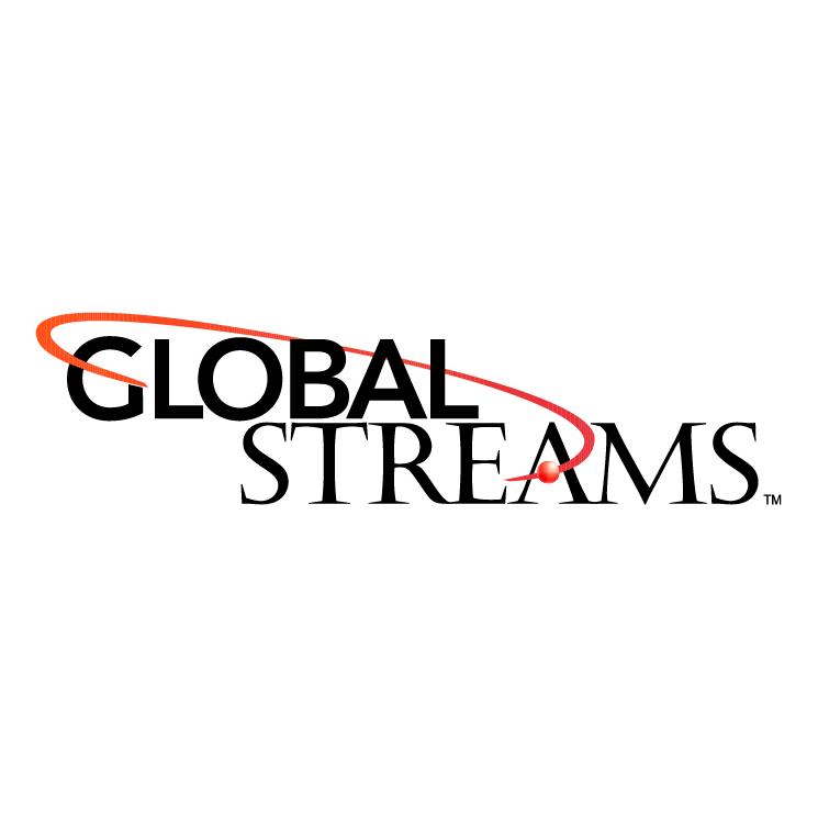 free vector Global streams