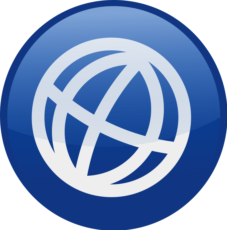 free vector Globe-blue