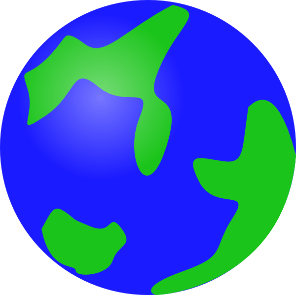 ... Free Vector Globe Earth Clip Art