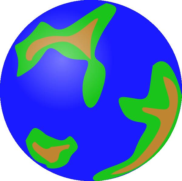 free vector Globe Green clip art