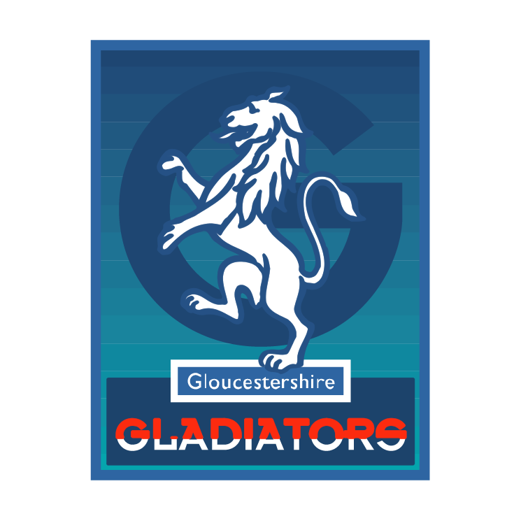 free vector Gloucestershire gladiators