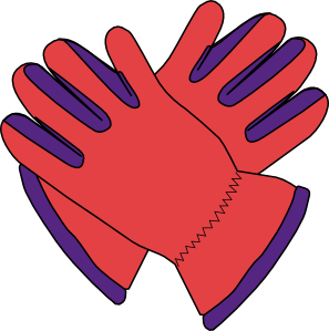 free vector Gloves clip art
