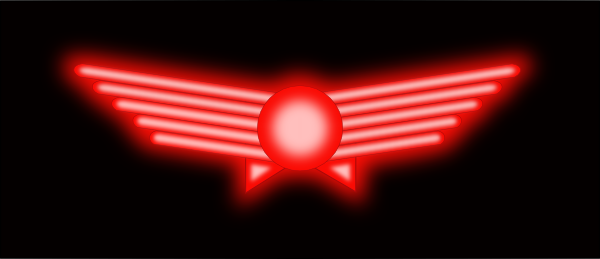 free vector Glowing Aviation Symbol clip art