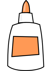 free vector Glue  clip art
