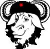 free vector Gnu Cap Hat Cow clip art