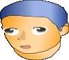 free vector Gnu D Me Anime clip art