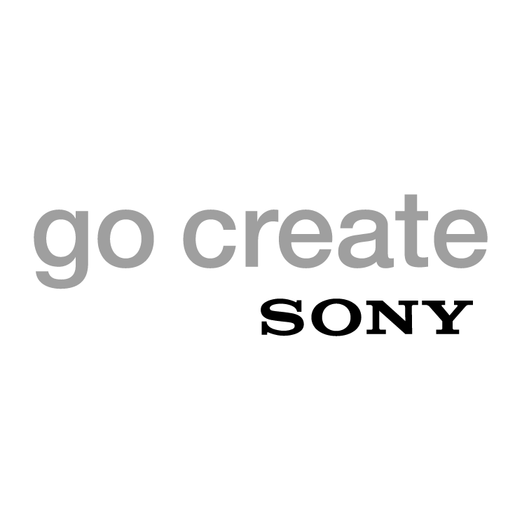 free vector Go create sony