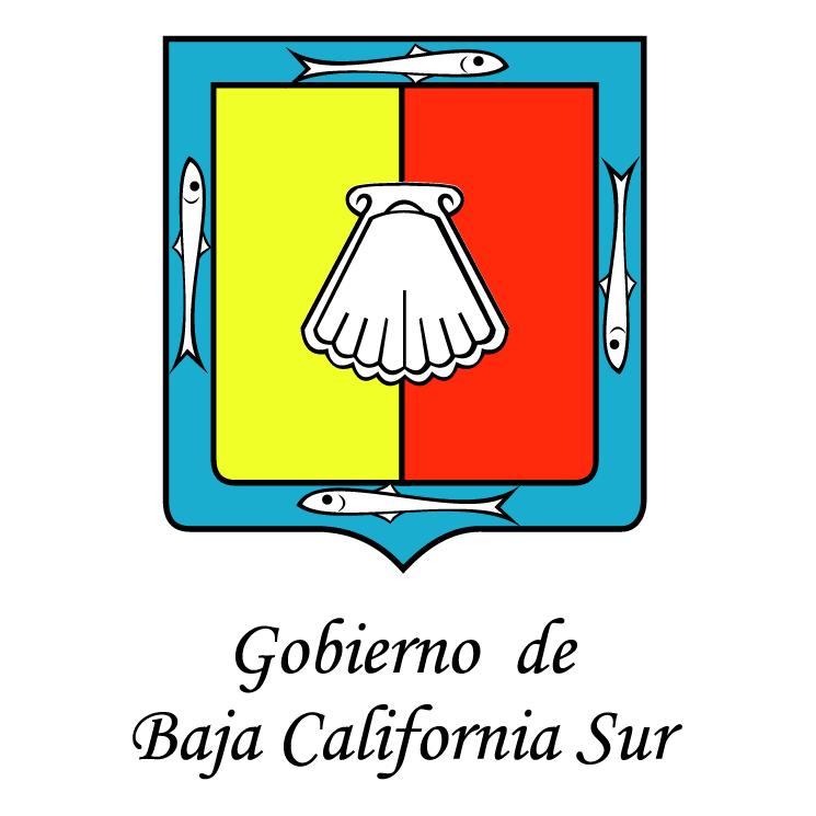 free vector Gobierno de baja california sur