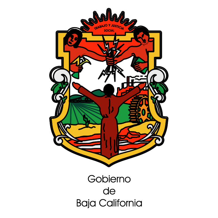 free vector Gobierno de baja california