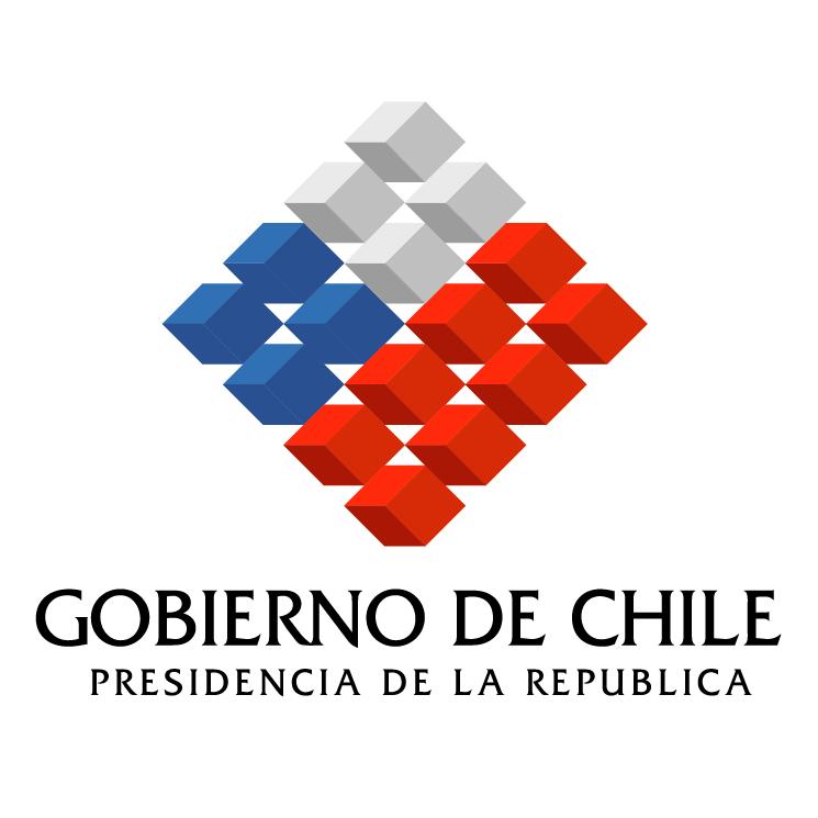 free vector Gobierno de chile
