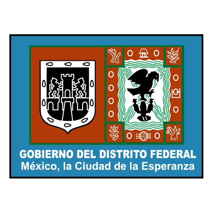 free vector Gobierno del distrito federal 0
