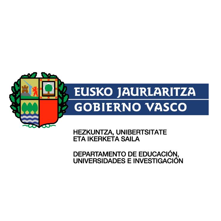 free vector Gobierno vasco