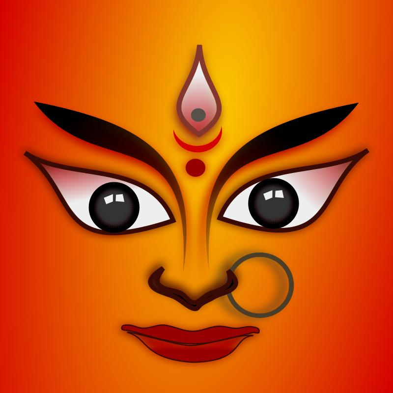 free vector Goddess Durga