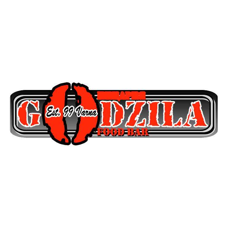 free vector Godzila food bar