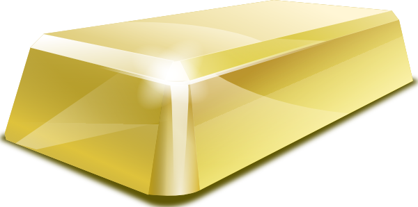free vector Gold Block clip art