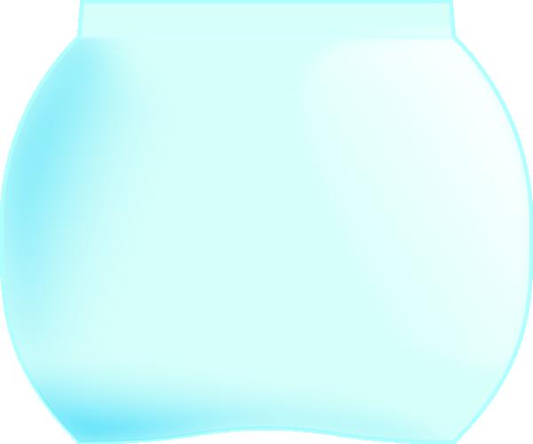 free vector Gold Fish Tank clip art