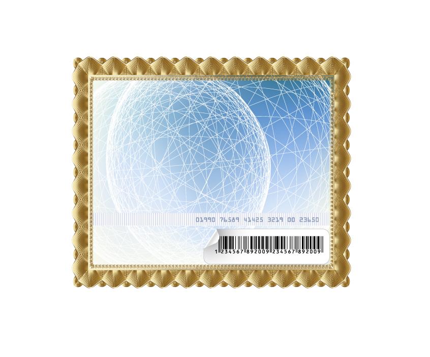 free vector Gold frame vector