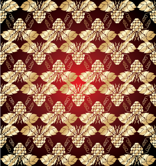 free vector Gold shading pattern 01 vector