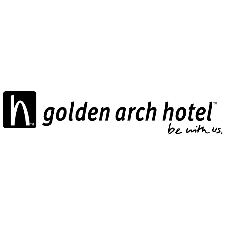 free vector Golden arch hotel 0