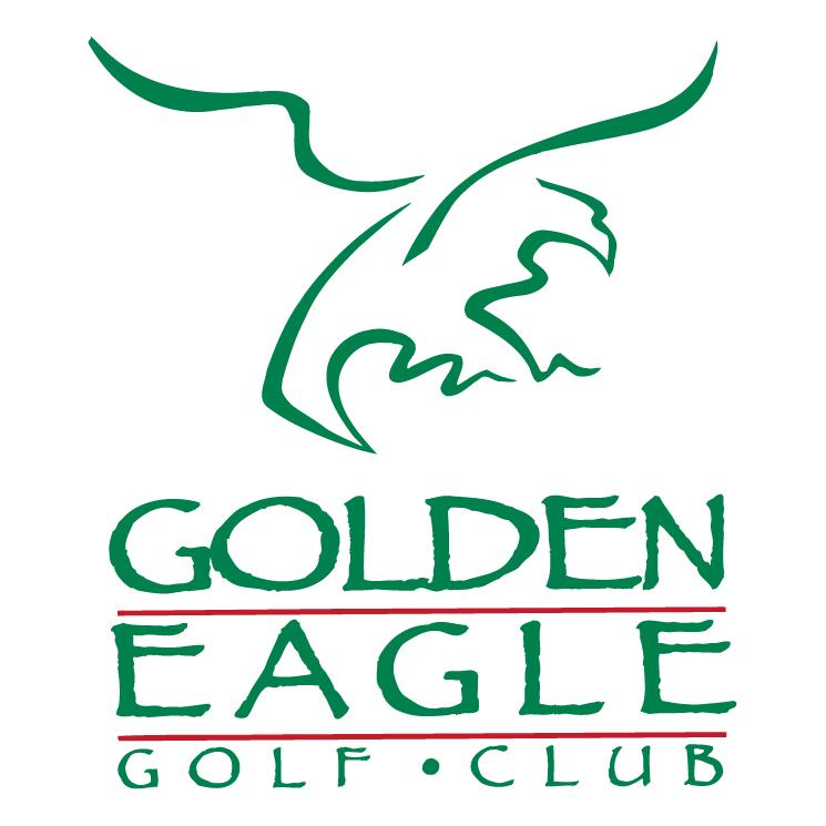 free vector Golden eagle golf club
