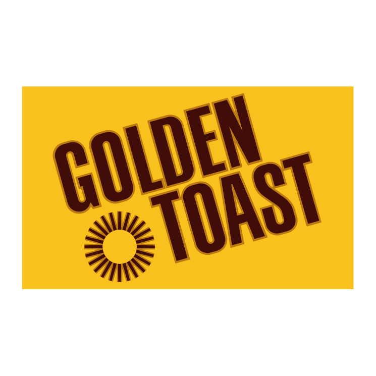 free vector Golden toast