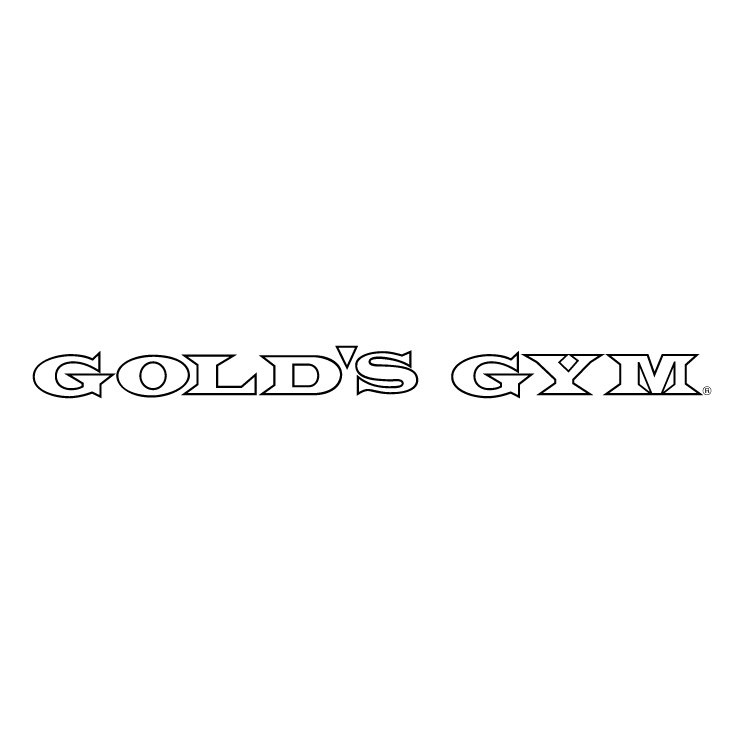 Gold Png Vector Golds Gym is Free Vector Logo