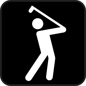 free vector Golf Course clip art
