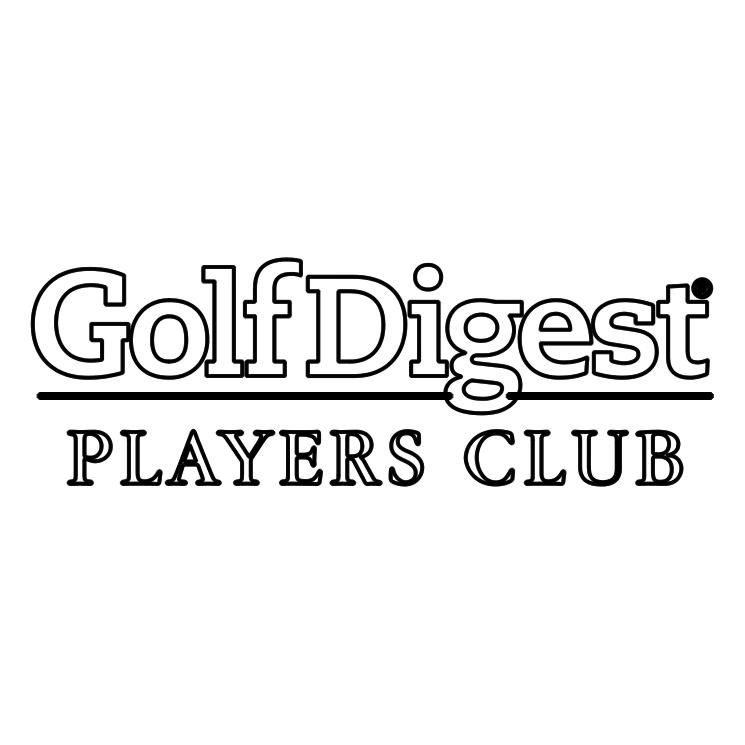 free vector Golf digest