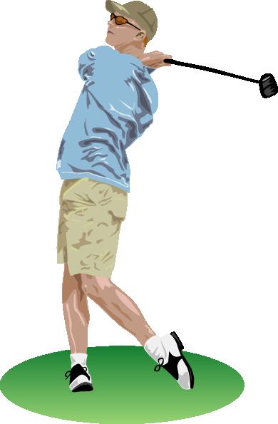free vector Golf Driver Swing clip art