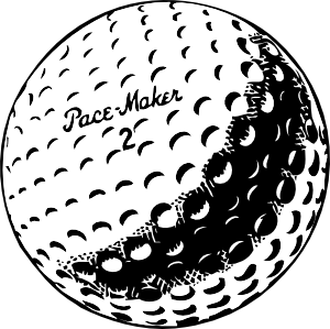free vector Golfball clip art