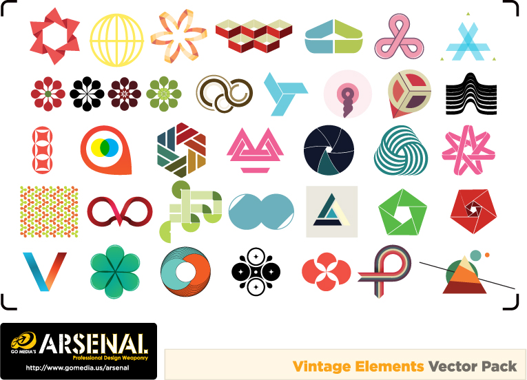 free vector Gomedia produced vector fashion graphics