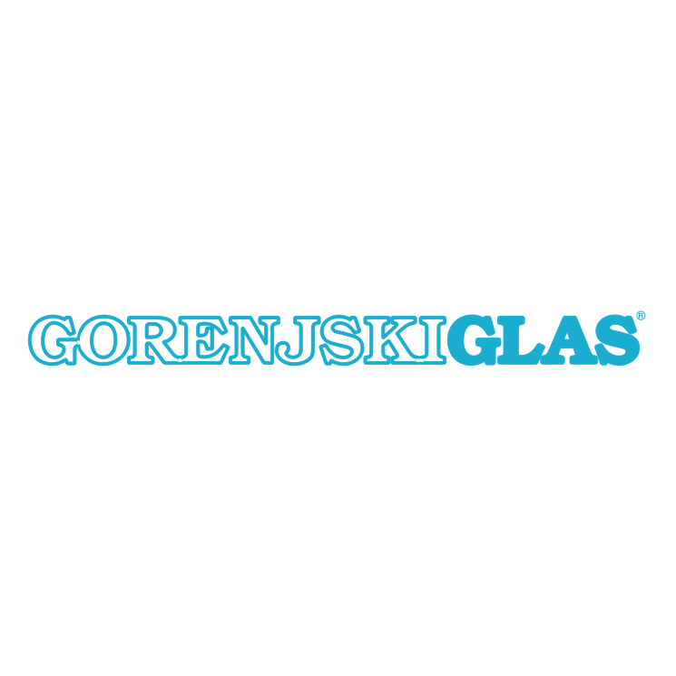 free vector Gorenjski glas