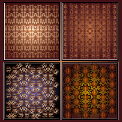 free vector Gorgeous background shading 01 vector