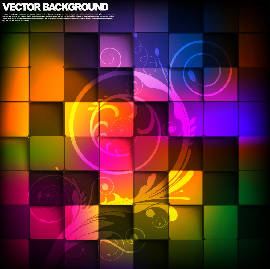 free vector Gorgeous box background 04 vector