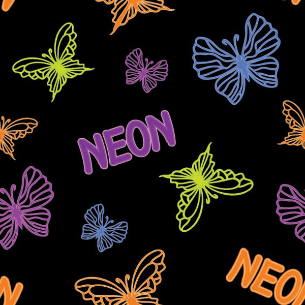 free vector Gorgeous butterfly style vector
