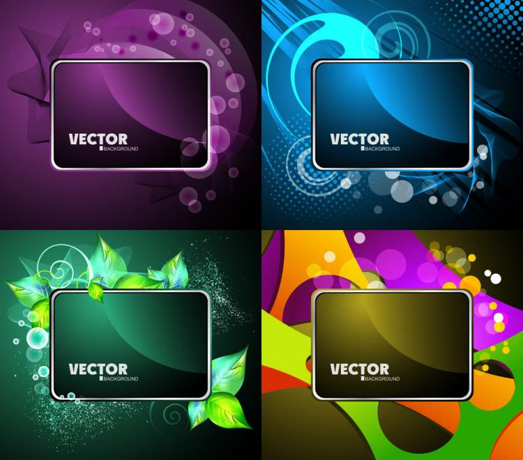 free vector Gorgeous card background 03 vector